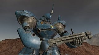 Gundam Crossfire - MS-18E Kämpfer