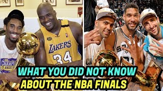 8 Things YOU DIDN'T KNOW About the NBA FINALS! NBA Finals Records and Facts!