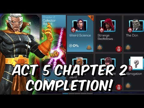 Free To Play Act 5 Chapter 2 2019 - Uncollected Full Run! - Marvel Contest of Champions