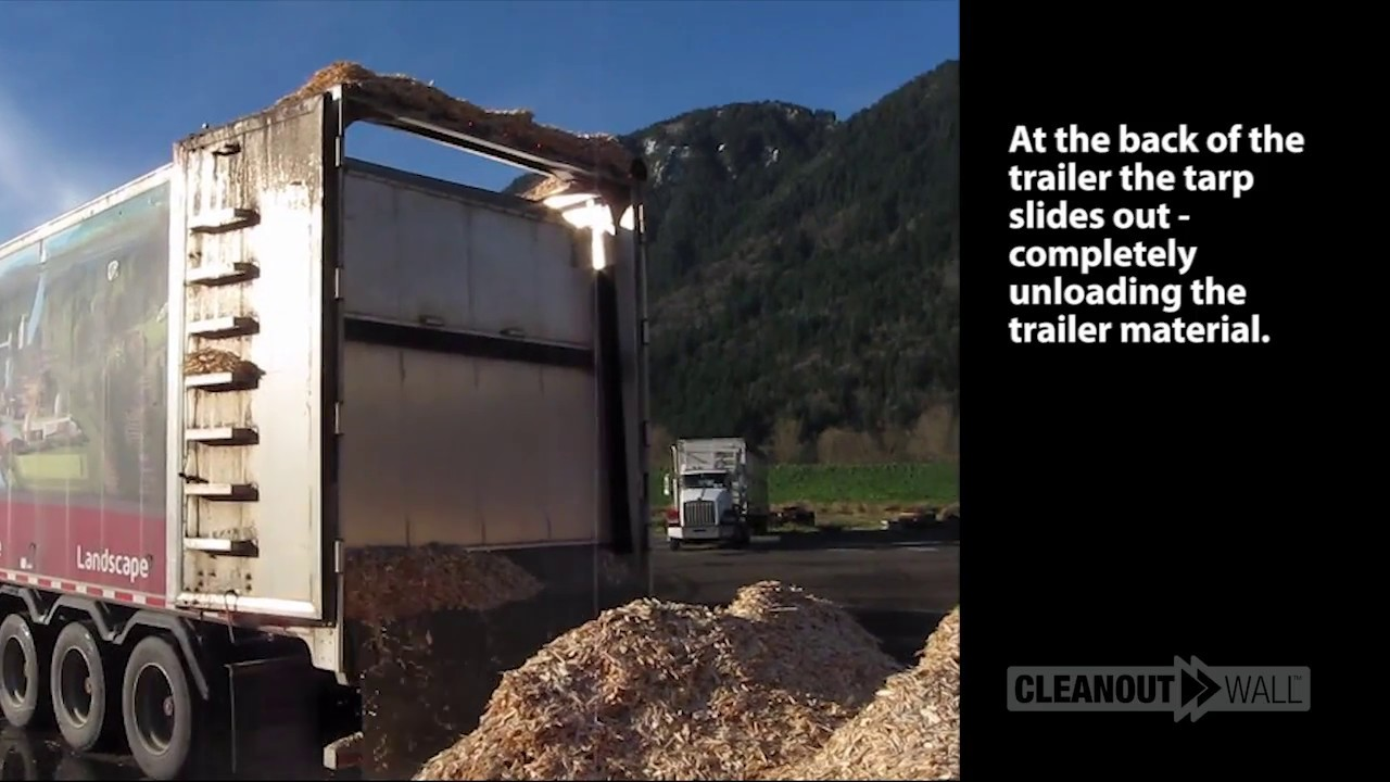 CleanOut Wall Smoothflow Moving Floor Trailer