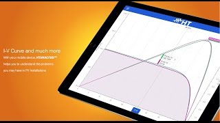 PV Solar installation troubleshooting with App HTAnalysis HT instruments
