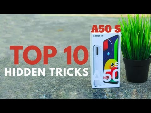 SAMSUNG A50S Top 10 hidden features Trick & Tips   Hindi