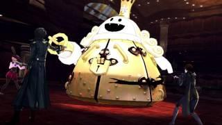 Persona 5 - King Frost Emperor Persona Shadow Negotiate