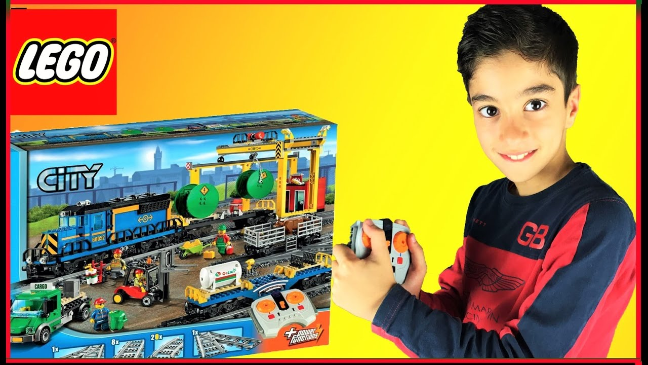 lego city jeux de construction le train des marchandises set 60052 studiosurprisetoys youtube. Black Bedroom Furniture Sets. Home Design Ideas