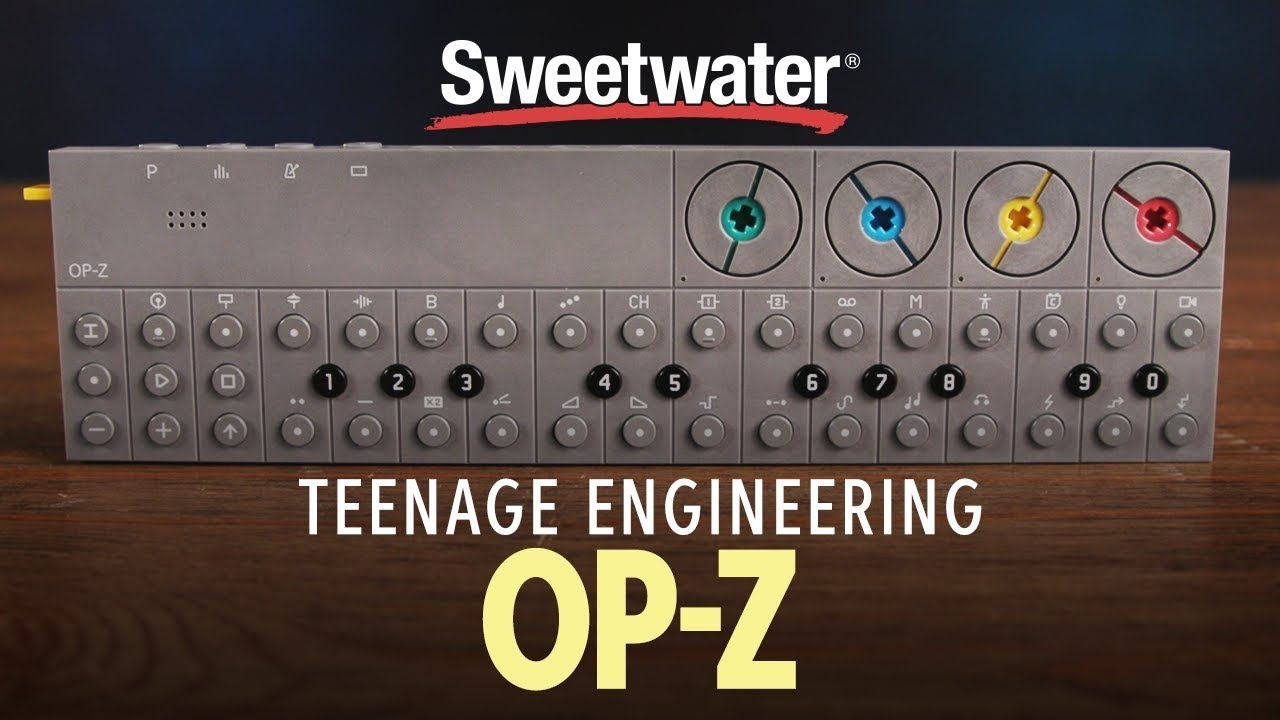 Teenage Engineering OP-Z Portable Wireless 16-track Synthesizer