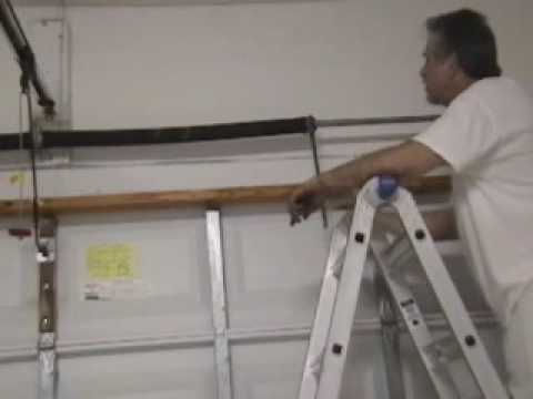 Diyclinic Garage Door Torsion Spring Replacement Part 3