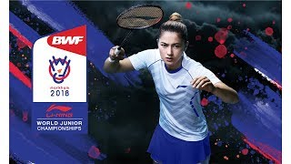 2018 World Junior Badminton Championships Live Court 3 - November 15