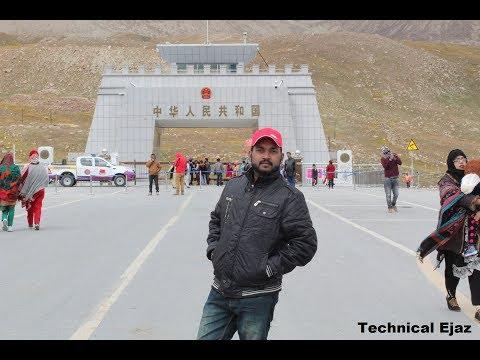 Lahore To China  Border By Road │CPEC │ Naran │Babusar Top │Attabad Lake Hunza │ Khunjerab Pass