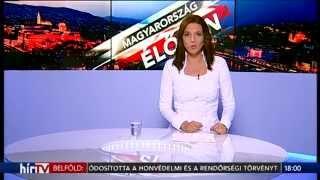 Hír TV - Az új arculat első napjának összefoglalója
