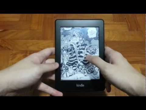 Reading Manga and Comics on the Kindle Paperwhite