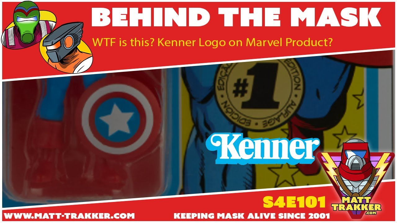 WTF is this? Kenner logo on a Marvel PRoduct?