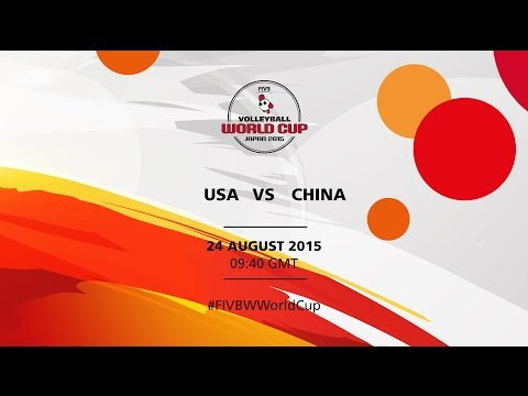 USA v China - FIVB Volleyball Women's World Cup Japan 2015