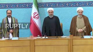 Iran: Rouhani warns supporters of US and Israel will 'regret their actions'
