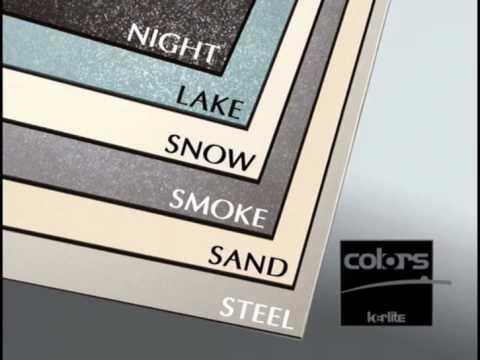kerlite 03 una nuova gamma di colori youtube. Black Bedroom Furniture Sets. Home Design Ideas