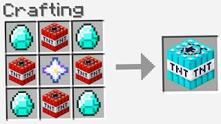 7 CRAFTING TNT CHE MINECRAFT HA BANNATO PERCHE' ILLEGALI!!