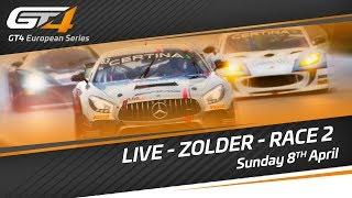 GT4 European Series  - ZOLDER 2018 - Race 2 - LIVE