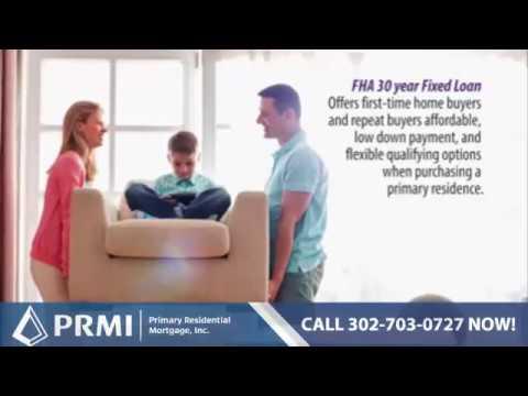 Delaware FHA Loans | PRMI Delaware