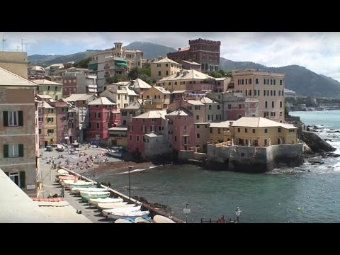 GENUA (Genova, Italy) Sightseeing - Musik PETER THOMAS