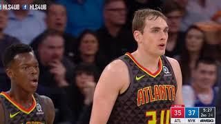 Atlanta Hawks vs New York Knicks Full Game Highlights | Dec 10, 2017 | NBA Season 2017-18