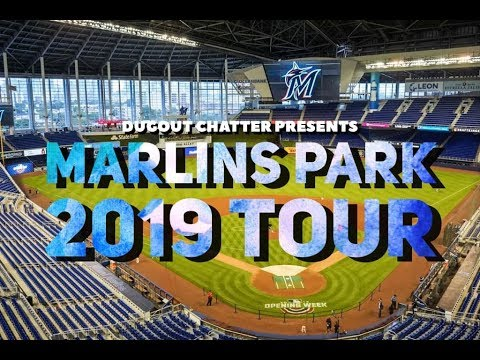 Marlins Park Tour