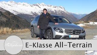 2017 Mercedes-Benz E-Klasse ALL-TERRAIN Test / Onroad und Offroad - Autophorie
