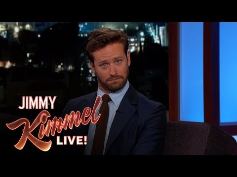 Armie Hammer Almost Missed His Baby's Birth