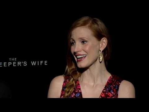 Thumbnail: The Zookeeper's Wife - Exclusive Interview