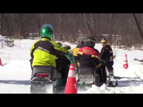 Nut Kracker 2018 Vintage Snowmobile Racing Ovals   Part 5