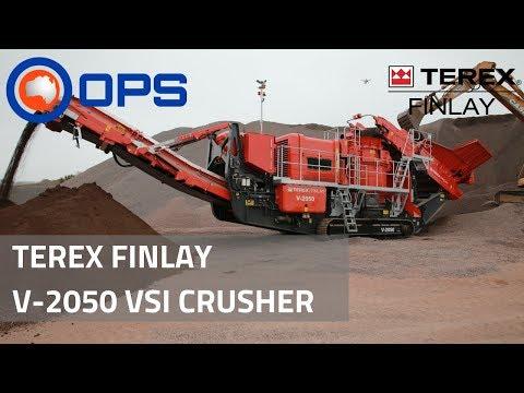 Terex Finlay V-2050 VSI Crusher | OPS Screening & Crushing