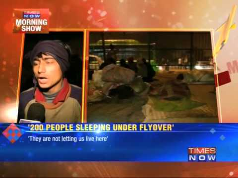 Delhi night shelters: Real picture