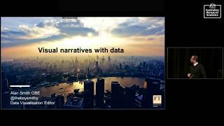Everything you wanted to know about data visualisation with Alan Smith OBE