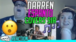 DARREN ESPANTO - CHANDELIER [SIA] LIVE COVER REACTION!!🔥