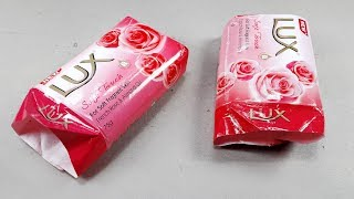 Waste material reuse idea | Best out of waste | DIY arts and crafts | recycling lux soap packet