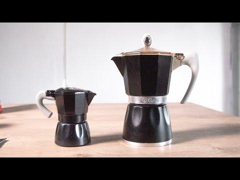 Гейзерная кофеварка - объем меняет вкус!