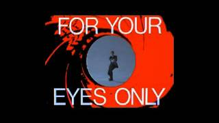 "For your eyes only ""Sheena Easton"" (Guitare cover Laurent)"