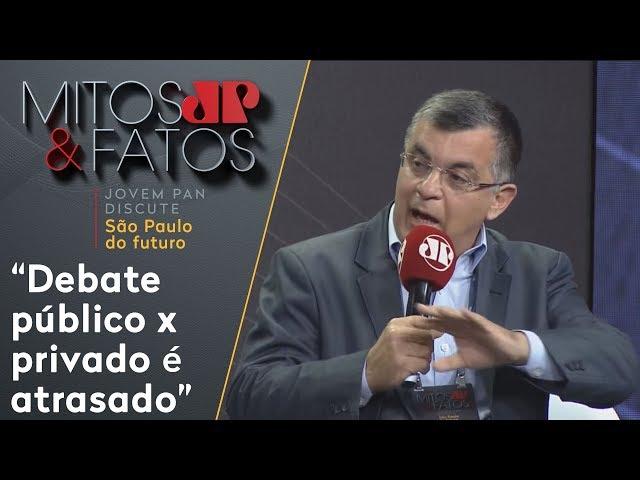 'Debate público x privado é atrasado', diz presidente do Trata Brasil sobre privatizações