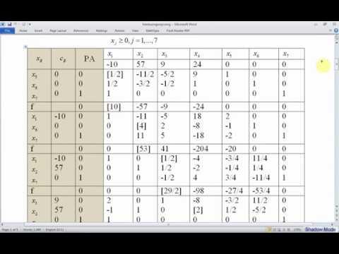 Download Bài toán quy hoạch tuyến tính thoái hóa   Phương pháp xử lý hiện tượng xoay vòng