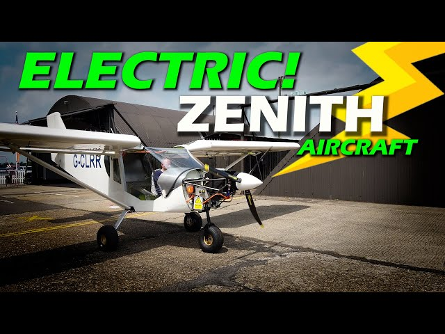 All Electric! Zenith CH750 Aircraft from the UK - EV Lithium Battery Tech - Nuncats