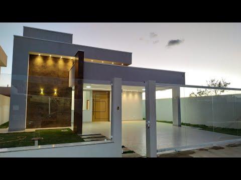 Casa Térrea MODERNA MARAVILHOSA em Condomínio de Sobradinho, Brasília/DF - TOUR COMPLETO A VENDA!