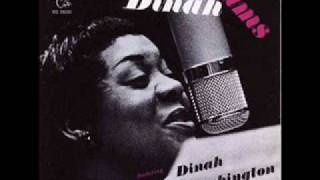 DINAH WASHINGTON ~ Dream ~