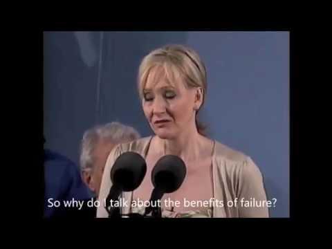 TOTIG's Short Speech #1 - J. K. Rowling | Benefits of Failure