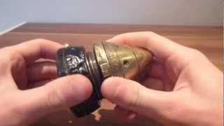 ww1 rare Belgium artillery shell fuse breakdown