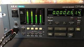 Akai DR4d - 4 Track HD Recorder MPC era - HQ Direct Audio