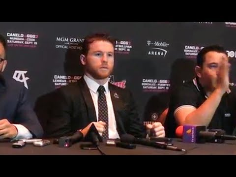 """Canelo: I Can BEAT GGG with ANY STYLE! """"Mexican"""" or Boxing"""