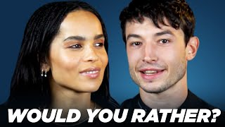 "The Cast of ""Fantastic Beasts: The Crimes of Grindelwald"" Play ""Would You Rather?"""