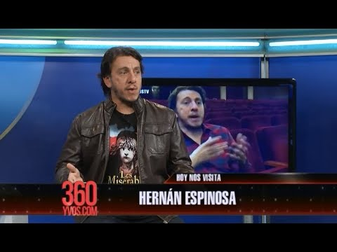 Hernán Espinosa presenta La Reforma en #360yvosTV