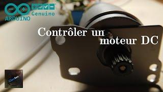 Contrôler un moteur à courant continu avec une Arduino