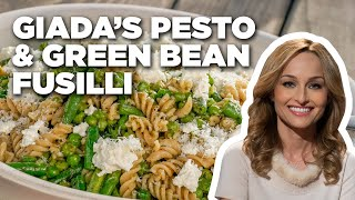 Pesto and Green Bean Pasta with Giada De Laurentiis | Food Network