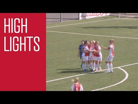 Highlights Ajax Vrouwen - Linfield (Champions League)