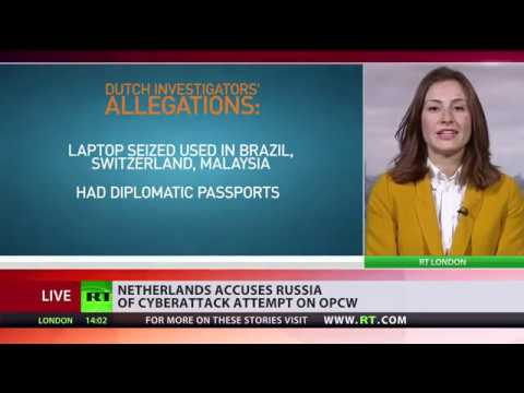 Netherlands accuses Russia of cyberattack attempt on OPCW